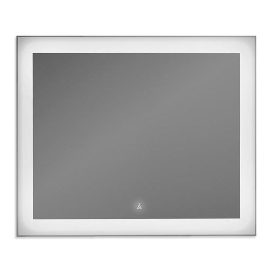 ЗЕРКАЛЬНАЯ ПАНЕЛЬ ALVARO BANOS BARCELONA 90 С СЕНСОРОМ С LED ПОДСВЕТКОЙ - главное фото