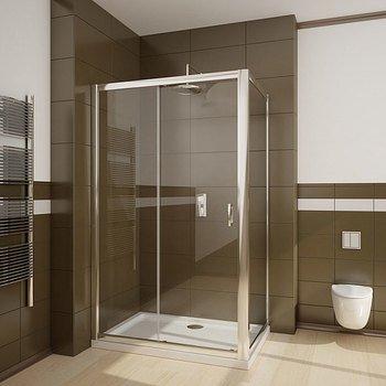 Душевая дверь Premium Plus DWJ 110*190 хром/прозр 33302-01-01N-15447