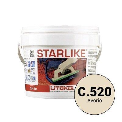 Эпоксидная затирка Starlike Defender C.520 Avorio антибактер. 1 кг