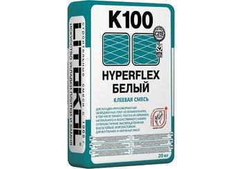 HYPERFLEX K100 Клей для укладки крупноформатных облицовочных плит из керамогранита 20 кг.-9899