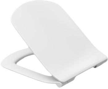 Сиденье для унитаза DAMA SENSO микрол.,быстрое снятие, тонкое, дюропласт (белый) -17297