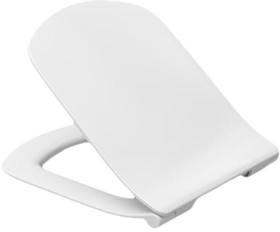Сиденье для унитаза DAMA SENSO микрол.,быстрое снятие, тонкое, дюропласт (белый)  - главное фото