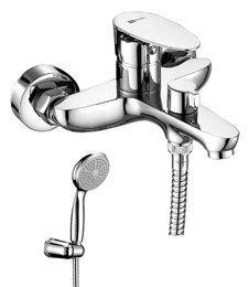 Серия NERO. Смеситель для ванны с монолитным изливом (LM0214C)