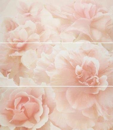 Decor Sigh pink azahar ( из 3-х плиток) - главное фото
