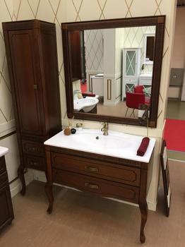Мебель для ванной Фреско 100 Светлый орех Opadiris-13192