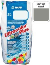Затирка Ultracolor Plus №112 (серый) 2 кг.