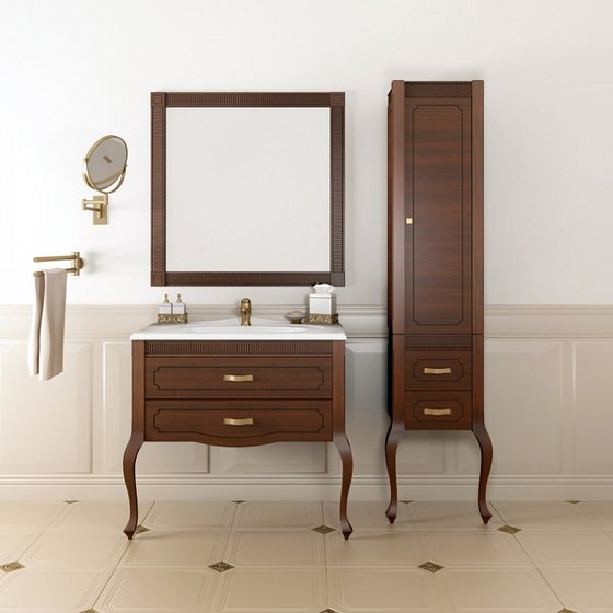 Мебель для ванной Фреско 100 Светлый орех Opadiris - главное фото