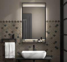 Панель с зеркалом PLAZA Next 60x100 с подсветкой LED-14257