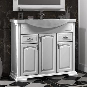 Мебель для ванной Риспекто 95 Белый матовый Opadiris-13160