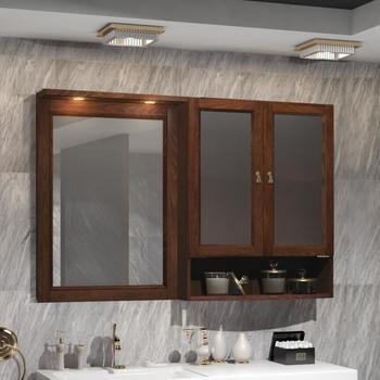 Мебель для ванной Клио под стиральную машину Орех антикварный Opadiris-14715
