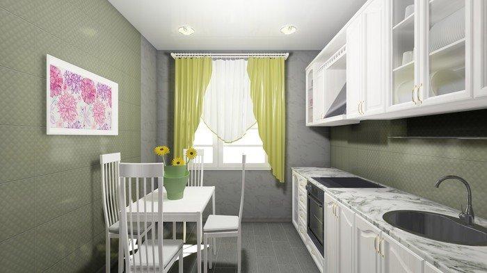 Дизайн-проект «Кухня в Миланском стиле»