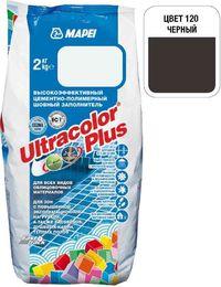 Затирка Ultracolor Plus №120 (черный) 2 кг.