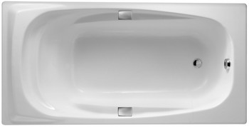 E2902-00 ванна SUPER REPOS 180 Х 90 С ОТВЕРСТИЯМИ ДЛЯ РУЧЕК-17744