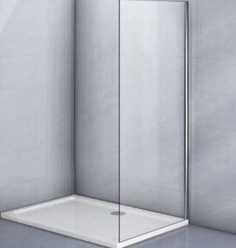 Фиксированная боковая панель без верхнего и нижнего профиля KP03-90-01-19C1 стекло прозрачное 6 мм-19816