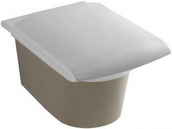 E1303-00 унитаз подвесной STILLNESS сидение с микролифтом /58,5х38/ (белый) JD  -12957