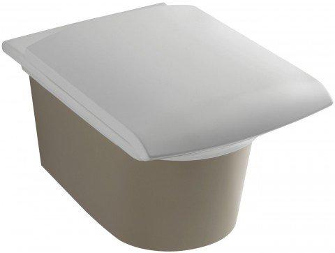 Унитаз подвесной STILLNESS сидение с микролифтом /58,5х38/ (белый) JD  (E1303-00) - главное фото