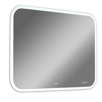 Зеркало Demure Led 1000*700  с музыкальным блоком и подогревом Calypso-13658
