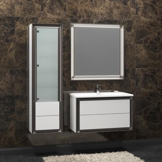 Мебель для ванной Капри 80 Белый Opadiris - главное фото
