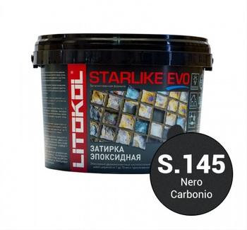 Эпоксидная затирка STARLIKE EVO nero carbonio (S.145) 5 кг-19328