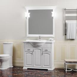 Мебель для ванной Риспекто 95 Белый матовый Opadiris