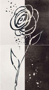 Decor Zinder Negro декор 33,3*60 (из 4-х) -17306