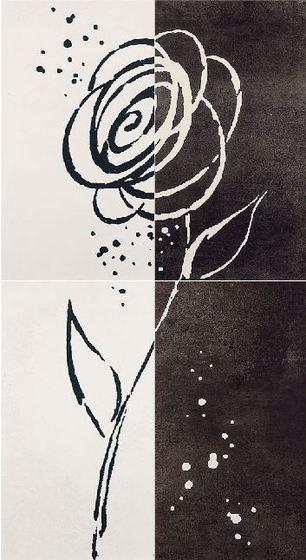 Decor Zinder Negro декор 33,3*60 (из 4-х)  - главное фото