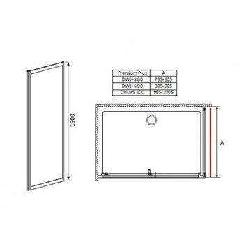 Боковая стенка Premium Plus S 80-15495