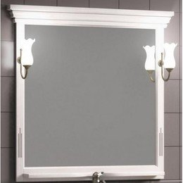 Зеркало Риспекто 95 Белый матовый Opadiris