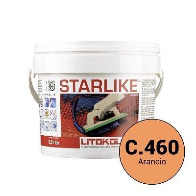 Эпоксидная затирка Starlike C.460 Arancio 2,5 кг - главное фото