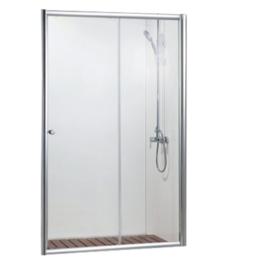 Душевая дверь в нишу 1200x2000, одна раздвижная дверь DROP