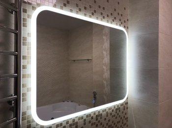 Зеркало Demure Led 800*700  Сalypso-11402