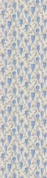 Обои Эдем серый, синий мотив-19133