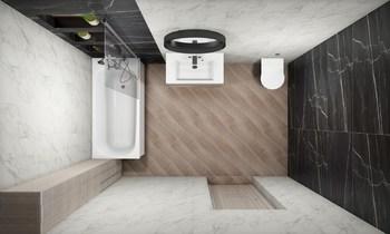 Дизайн-проект «Calacatta Black»-20463