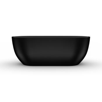 8C-368-170MB Ванна Матовая Чёрная SEVILLA 170 -17510