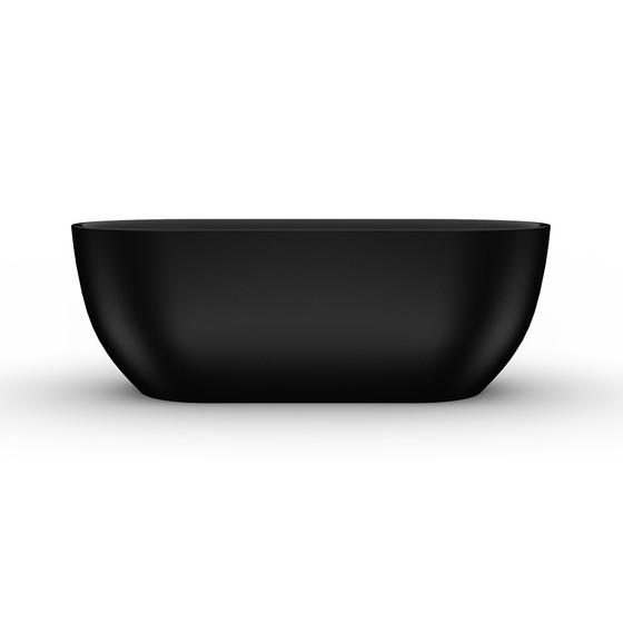 8C-368-170MB Ванна Матовая Чёрная SEVILLA 170  - главное фото