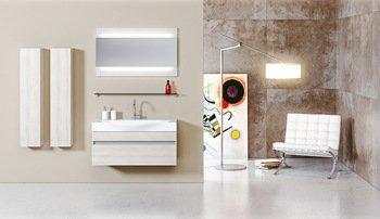 Зеркало с интегрированным светильником  Л10 Бергамо-13680