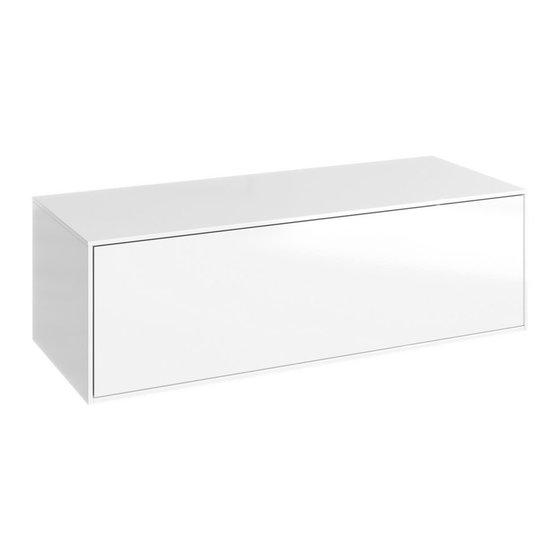 Genesis тумба подвесная 100, цвет белый GEN0310W - главное фото