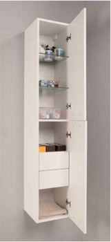 Пенал BUONGIORNO 150 см, белый-13735
