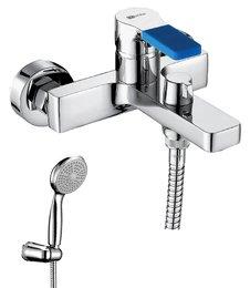 Серия AURA. Смеситель для ванны с монолитным изливом – LM0614C