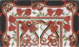 Mural Baikal rojo панно (из 8-ми плиток 25х60)