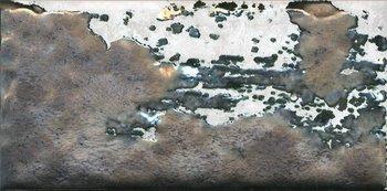 Декор Граффити металл серый светлый-12270