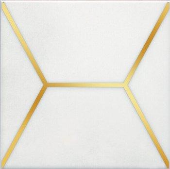 Декор Витраж белый-12135