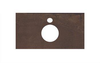 Спец. изделие декоративное для накладных раковин Про Феррум коричневый -14302