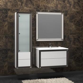 Мебель для ванной Капри 90 Белый Opadiris-10833