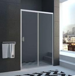Душевая дверь раздвижная 1000х1850 VN46-100-01-19C1 стекло прозрачное 6 мм