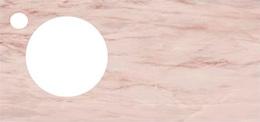 Спец. изделие декоративное 97х48.5 CONO Onice розовый с отверстием под смеситель керамическое