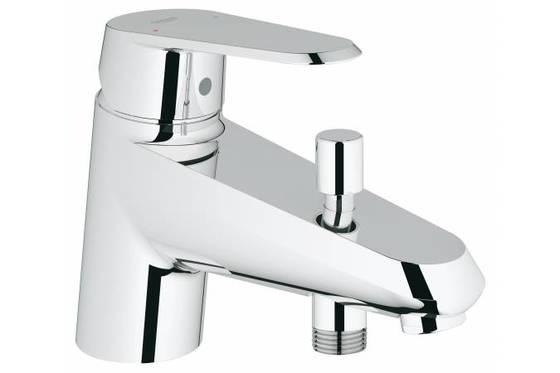Смеситель для ванны GROHE Eurodisc Cosmopolitan (монтаж на бортик ванны)  - главное фото