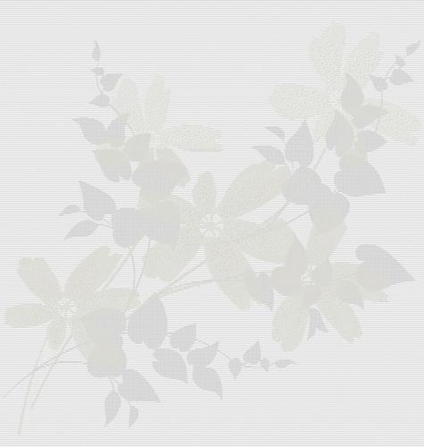 Flower Blanco декор стена (из 3-х плиток 31,6х90) - главное фото