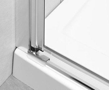 Душевая дверь EOS DWJ 100 без матовой вставки-15402