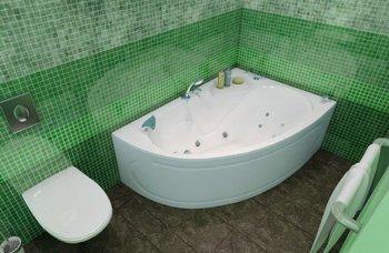 Акриловая ванна Triton Кайли (правая)-10683